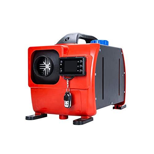 Supertop Diesel-Standheizung,12V 8KW All-in-One-Kit Diesel Lufterhitzer, Luft Dieselheizung Mit Fernbedienung Und LCD-Display, Für Wohnmobile Von LKW-LKWs (Rot)