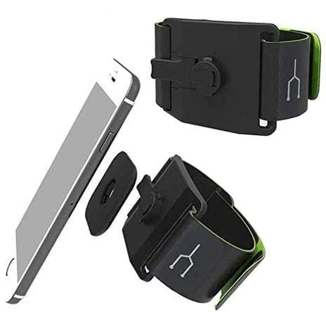 Navitech Brazalete Desmontable para Correr - Compatible con la SanDisk SDMX18-008G-E46K Sansa Clip+