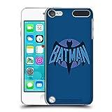 Head Case Designs Officiel Batman TV Series Affligé Logos Coque Dure pour l'arrière Compatible avec iPod Touch 5G 5th Gen