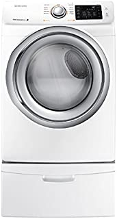 Samsung DV42H5200EW 7.5 Cu. Ft. Front-Load Electric Steam Dryer with Sensor Dry, White