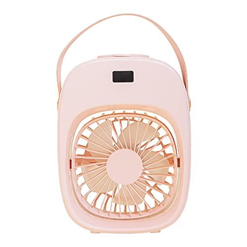 Ventilador USB,Ventilador de Humidificación,Portatil Mini Ventilador Silencioso,Ventilador Recargable,Ventilador Portatil para Oficina, Coche, Escritorio y Dormitorio