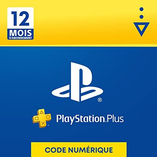 Sony PlayStation Plus, Carte d'abonnement de 12 mois, Code j
