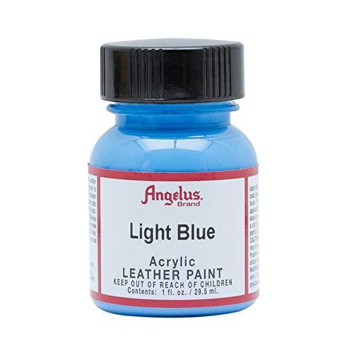 Angelus - Acrylfarbe für Leder - Hellblau, 29ml.