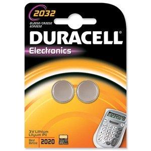 Schneiden, Edge Duracell DL2032 Lithium-Batterien (für Kameras, Taschenrechner, Pager, 3 V, Hersteller-Ref. 75072668) 2 Stück, Cleva ® alute ® Edition