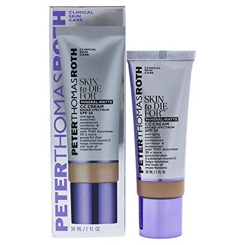 Peter Thomas Roth Skin To Die For Mineral Matte Cc Cream Spf 30 - Medium, 1 fl. oz.