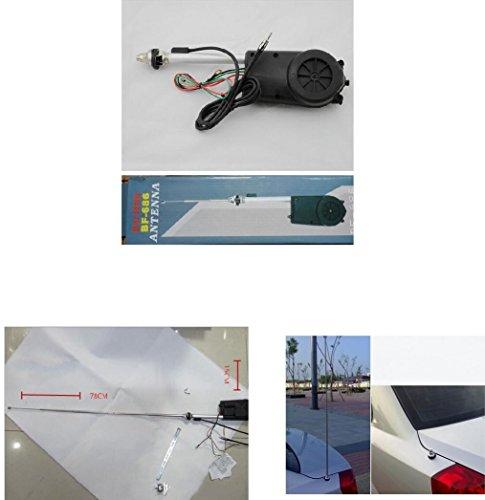 Moteur électrique pour antenne télescopique automatique.