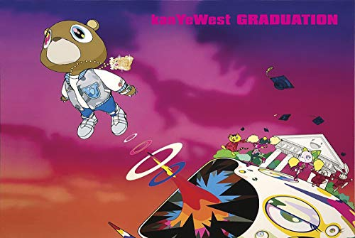 Kanye West Graduation Music Poster 24in x 36in