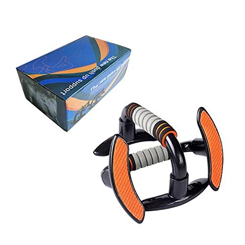 N/U Barra push-up con impugnatura in schiuma antiscivolo, un paio di maniglie inclinate, utilizzata per l'allenamento dei muscoli degli arti superiori, adatta per il fitness maschile e femminile