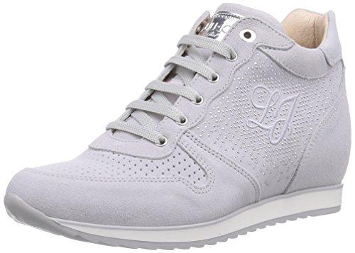 Liu Jo Sneaker, Sneaker Alta Bambina, Grigio (Grau (Grigio Chiaro)), 39
