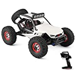 Goolsky WLtoys XK 12429 1:12 RC Car Crawler 40km / h 4WD 2.4G Coche eléctrico con Luces Delanteras RC Coche Todoterreno Regalo para niños Adultos