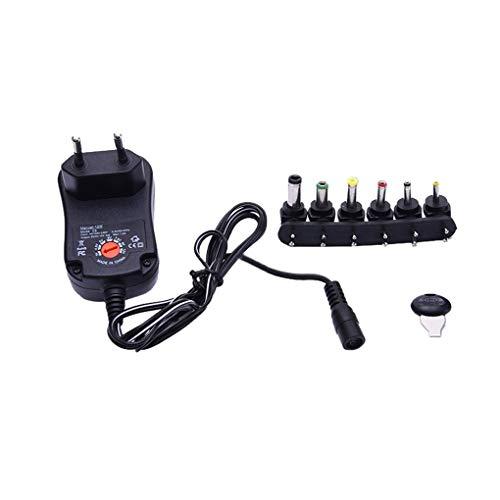 12W AC/DC Switching Alimentazione Adattatore apposito trasformatore 6 Plug 12W per 3V a 12V Striscia di LED Elettronica