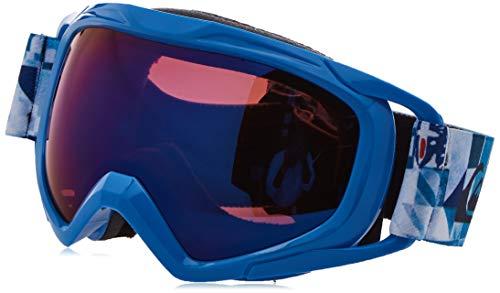 Quiksilver Eagle 2.0-Snowboard/Esquí Máscara para Niños 8-16, Brilliant Blue Check Forever, 1SZ