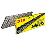 D.I.D(大同工業)バイク用チェーン カシメジョイント付属 520VX3-110ZB STEEL(スチール) X-リング 二輪 オートバイ用 317665