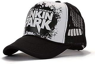 Net cap Linkin park letter cap man and woma mesh hat Hip hop mesh cap
