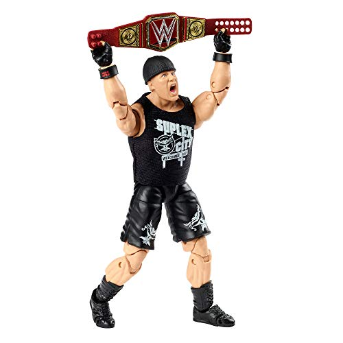 WWE Brock Lesnar Ultimate Edition Wave 4 Multipose 15,2 cm Actionfigur mit Einstiegsausrüstung, extra Köpfen und austauschbaren Händen 