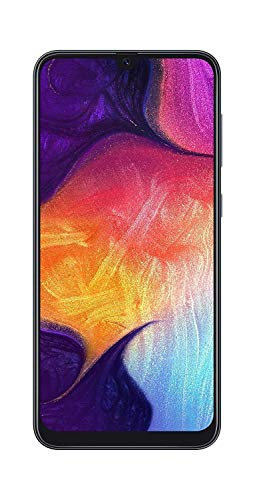 Samsung Galaxy A50 Verizon, 64GB Black (Renewed)