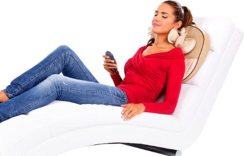 newgen medicals Nackenmassage: Massagekissen für Nacken, Schultern, Rücken (Nackenmassage Geräte)
