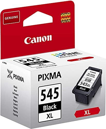 Canon PG-545XL Cartucho de tinta original Negro XL para Impresora de Inyeccion de tinta Pixma TS3150-TS3151-MX495-MG2450-MG2550-MG2550S-MG2555S-MG2950-MG3050-MG3051-MG3052-MG3053-IP2850