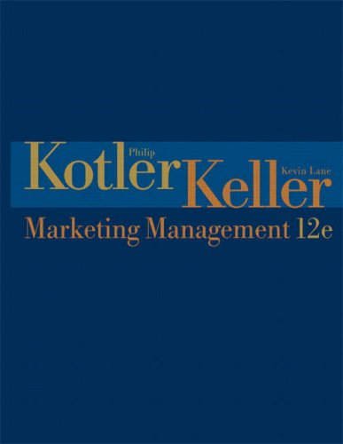Marketing Management (12th Edition)