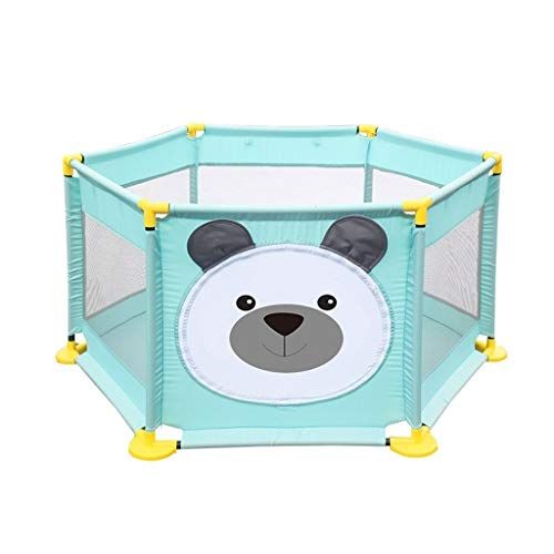 Best Prices! Baby playpen Playpen Playpen, Children's Plastic Safety Foldable Breathable Waterproof ...