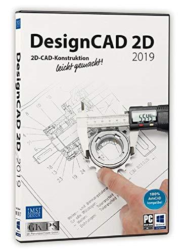 Avanquest DesignCAD 2D 2019 Vollversion, 1 Lizenz Windows CAD-Software