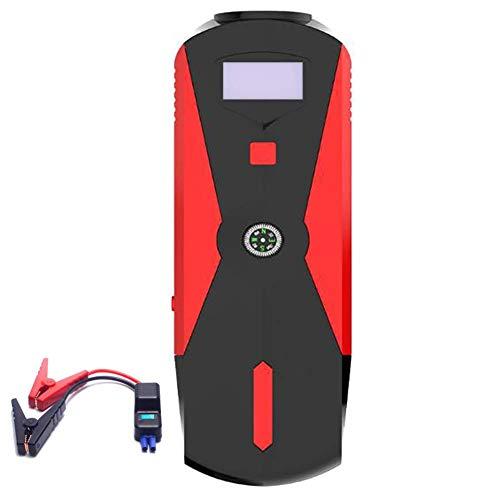 Preisvergleich Produktbild unknow Auto-Starthilfe,  600 Peak 16000mAh Auto Battery Booster (Vollgas oder 6, 0 l Diesel) Tragbares Netzteil Dual QC3.0 USB-Anschlüsse,  2 LED-Taschenlampen und 3 Lichtmodi