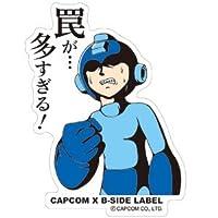 CAPCOM×B-SIDE LABELステッカー ロックマン 罠が・・・
