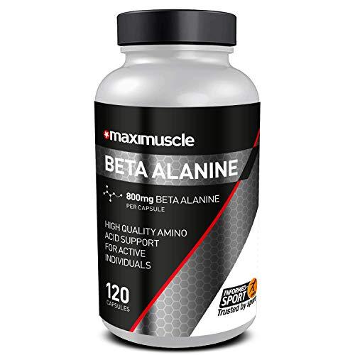 MAXIMUSCLE Beta Alanine Capsules 120'S