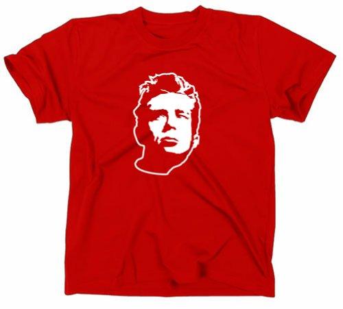 James Dean Kult Retro T-Shirt in, rot, XL