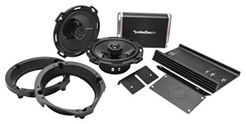 Rockford Fosgate 300 Watt Front Audio Kit for 1998-2013 Harley Davidson Motorcycles