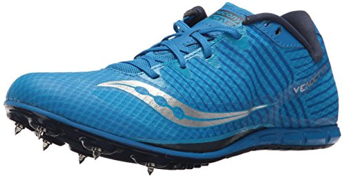 Saucony Men's Vendetta 2 Track and Field Shoe, Royal/Silver, 13 Medium US