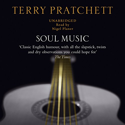 Soul Music audiobook cover art