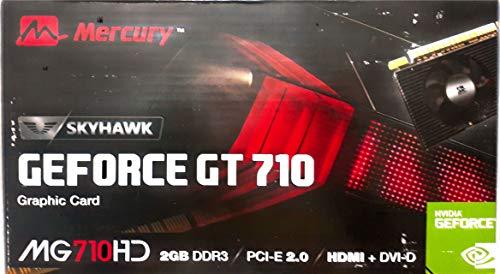 Mercury Nvidia GeForce GT710 2GB DDR3 64 BIT PCI- Express 2.0 Graphic Card