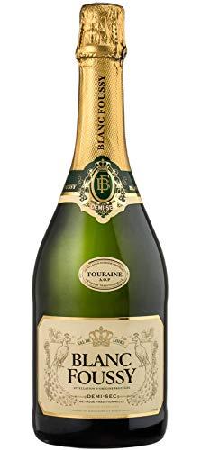 BLANC FOUSSY Touraine Vins Mousseux 0.75 L - Lot de 6