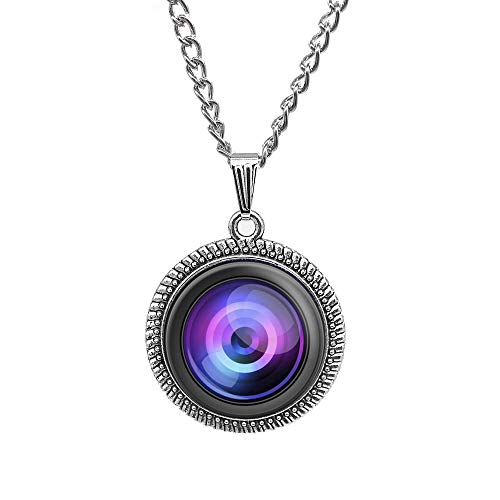 Charm Necklace Lens Necklace Camera Jewelry Photog Pendant Photographers Gift