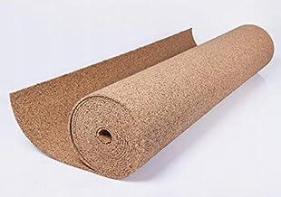 Kurkplaat per meter grootte 1 x 10 meter kurkrol rol 2 mm 3 mm 4 mm 6 mm 8 mm 10 mm (6 mm)