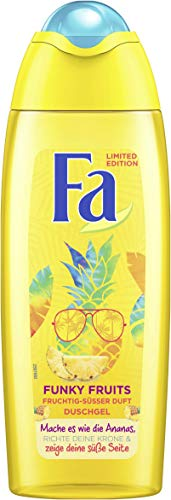 FA Duschgel Funky Fruits mit fruchtig-süßem Duft, 6er Pack (6 x 250 ml)