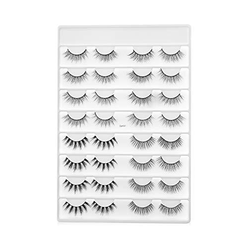 Multilayered Effect Handarbeit Werkzeuge zum Einbinden 3D Fuax Mink Hair Falsche Augenbrauen Vollständige Lautstärke Erweiterung der Lash(Glamour)