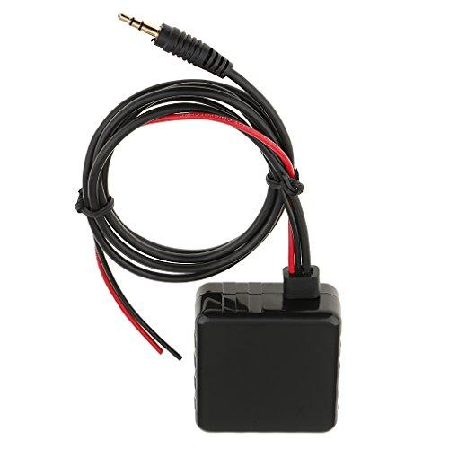 B Blesiya Adaptador de Receptor de Audio de Entrada de 3,5 Mm Adicional para Camión Estéreo para Automóvil 12V