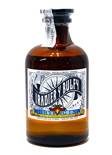 Singular 'Iradier y Bulfy' Ginebra Dry Gin, 500 ml