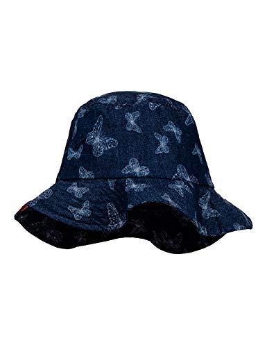 maximo Hut, Jeans Chapeau De Soleil, Bleu (DKL.Jeans-Butterfly 63), 49 Bébé Fille