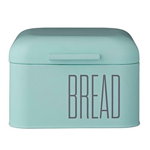 Bloomingville Mint Green Metal Bread Bin