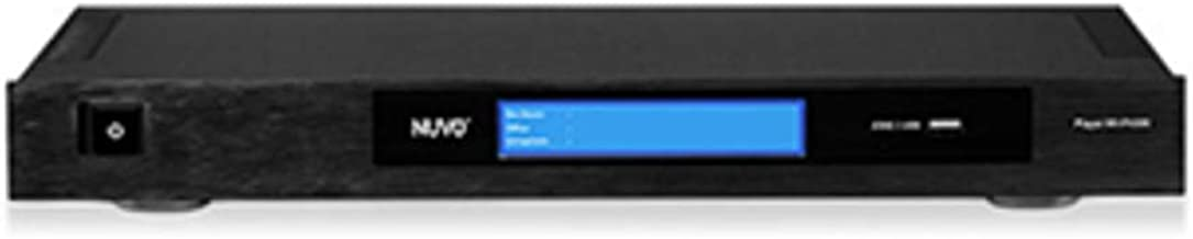 Nuvo Professional Series Audio Player Wired Network Streaming Amplifier, Stereo System Amplifier (6 Channels, 3 Stereo Zon...