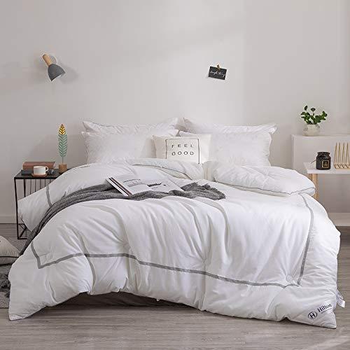 Quilt, Cinq Étoiles Hôtel Avec Cotton Climatisation For L'automne Et L'hiver Double Coton Épaissie Couette Microfibre (Color : Spring and Autumn, Size : 150×200cm)