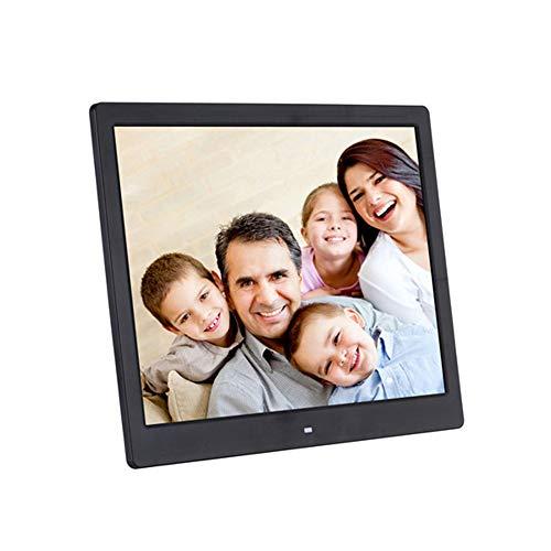 Elektronische Fotolijst 16 Inch HD Digitale Fotolijst Elektronische Albumwand Hangende Advertentiespeler 1080P HD-Videospeler,Black