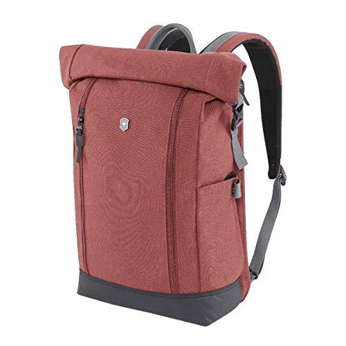 Victorinox Altmont Classic Rolltop Laptop Backpack with Bottle Opener, Burgundy, covid 19 (Top Laptop Backpacks coronavirus)