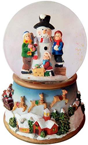Lightahead Snowman Snow Globe, Multi