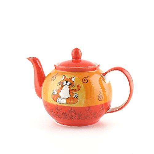 Mila Keramik-Teekanne, Oommh Katze, ca. 1,2 Liter | MI-94038