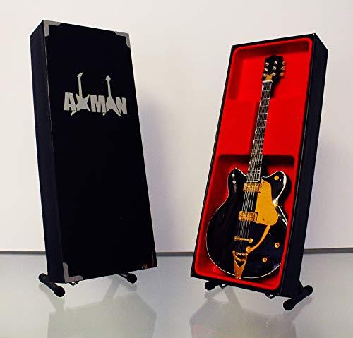 George Harrison (The Beatles): Country Gentleman Guitar - Réplica de guitarra en miniatura