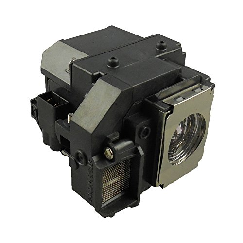 Supermait EP54 Replacement Projector Lamp Bulb with Housing, Compatible with Elplp54, Compatible with EX31 EX71 EX51 EB-S72 EB-X72 EB-S7 EB-X7 EB-W7 EB-S82 EB-S8 EB-X8 EB-W8 EB-X8e EH-TW450
